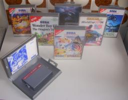 Sega master system 3d box art